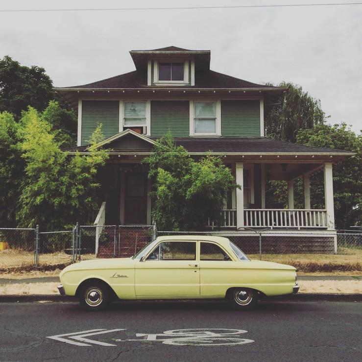 Wygant House and Car