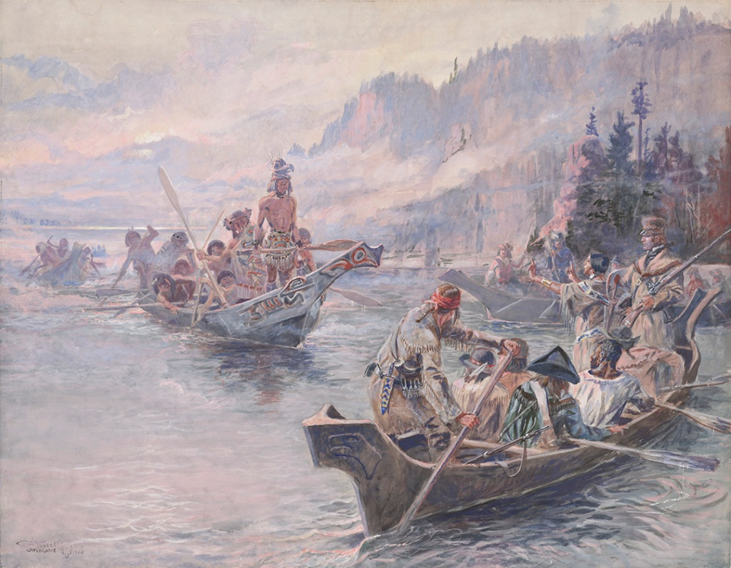 Lewis_and_Clark_on_the_Lower_Columbia;_1905,_Charles_M._Russell